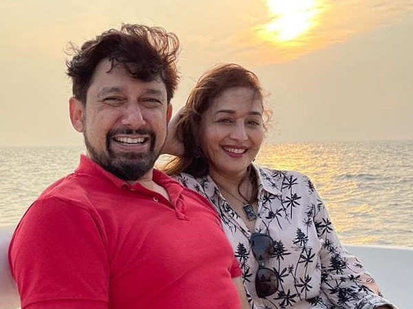 Madhuri Dixit Nene ends her day on the right note