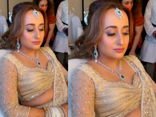 All about Natasha Dalal's bridal look