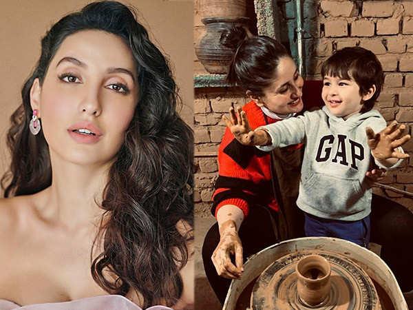 Here's what Kareena Kapoor Khan Has To Say When Nora Fatehi Proposed Marriage to Taimur