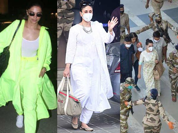 Post-lockdown celebrity airport looks that we loved