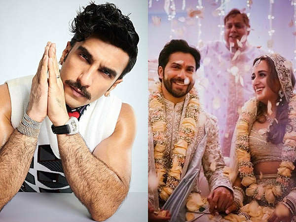 Ranveer Singh's congratulatory wish for Varun Dhawan and Natasha Dalal is all heart
