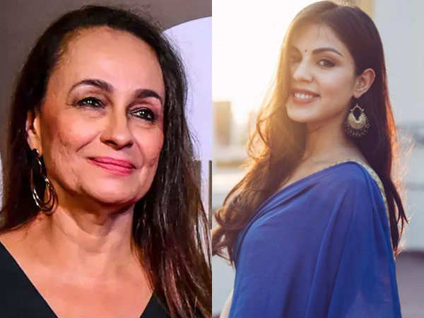 Soni Razdan Takes A Stand For Rhea Chakraborty
