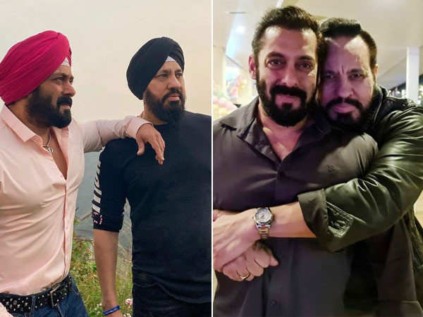 Salman Khan and his bodyguard Shera dress up in the same avatar