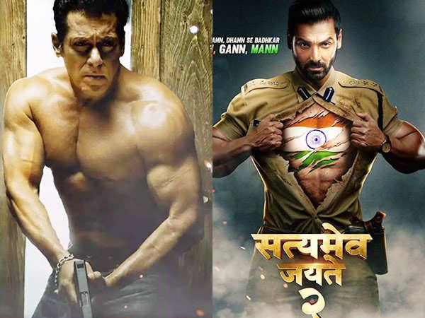 Salman Khan and John Abraham will lock horns at the box-office this year