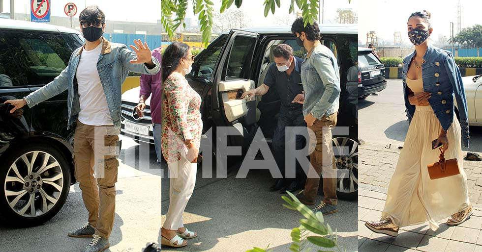 Photos: Sidharth Malhotra makes his parents meet Kiara Advani