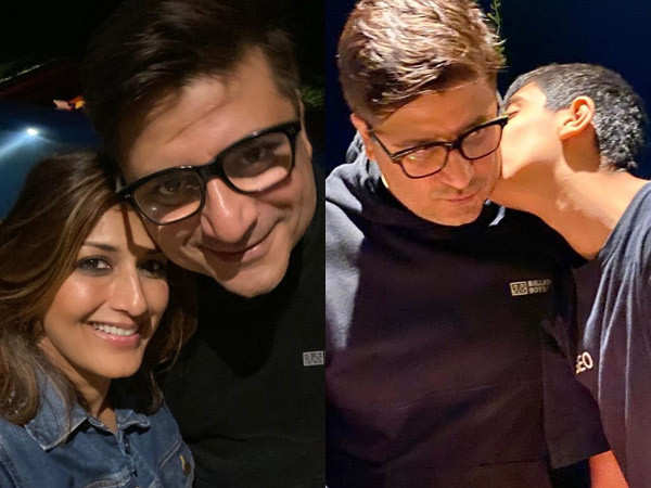 Sonali Bendre celebrates her husband Goldie Behl's birthday in a special way