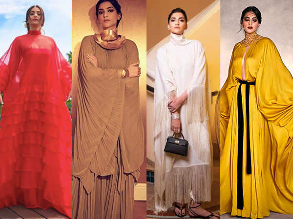 7 times Sonam Kapoor rocked a loose silhouette outfit