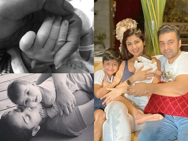 Looking back at ways stars introduced their babies to the world