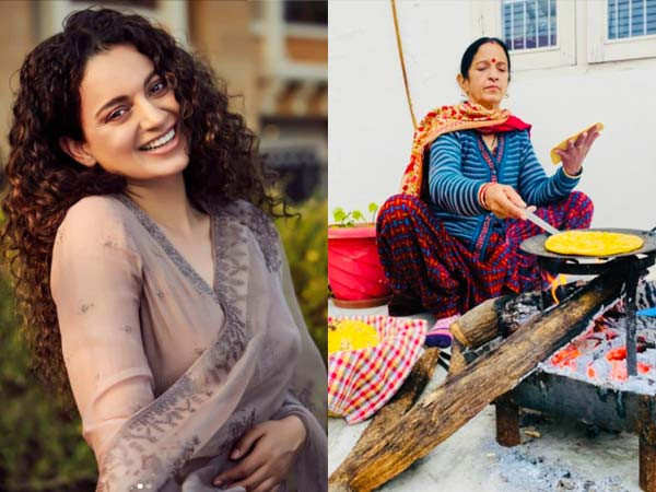 Kangana Ranaut's mother finds a new way to stay warm during winters