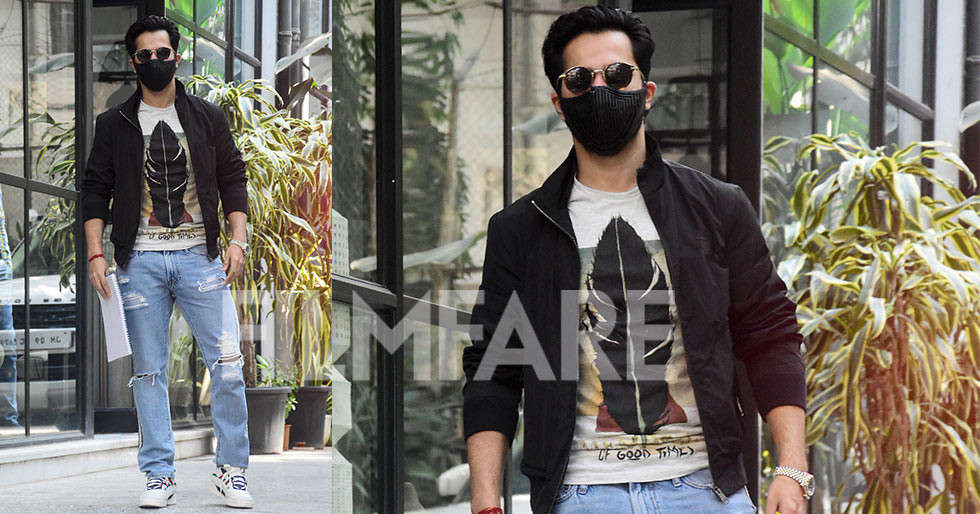 Varun Dhawan steps out for a meeting in Mumbai