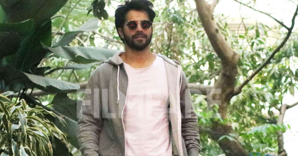 Photos: Varun Dhawan steps out for a meeting looking uber cool