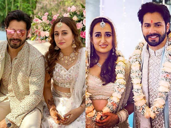Here are the pictures from Varun Dhawan and Natasha Dalal's mehendi ceremony