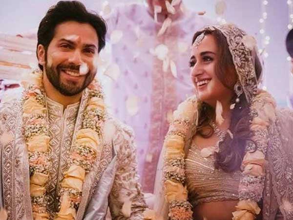 Bollywood stars send in their good wishes to newlyweds Varun Dhawan and Natasha Dalal