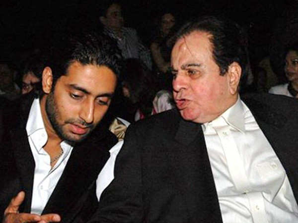 Did you know Dilip Kumar was to play Abhishek Bachchan's father in his debut?