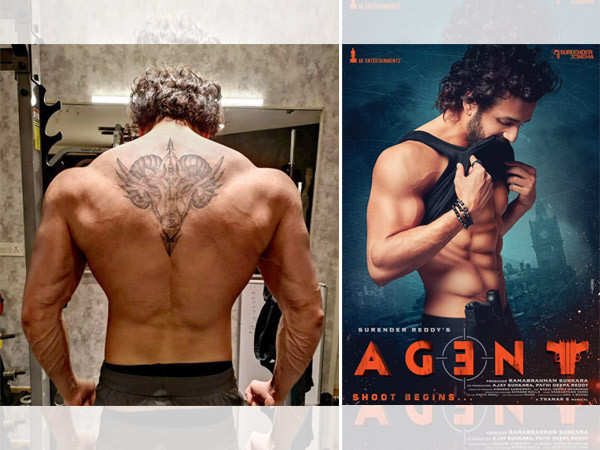 Akhil Akkineni shares muscular look for Agent in a new tweet