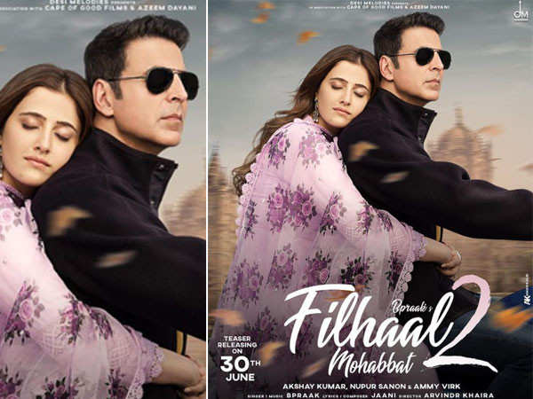 Akshay Kumar's Filhaal 2 Mohabbat trends on social media