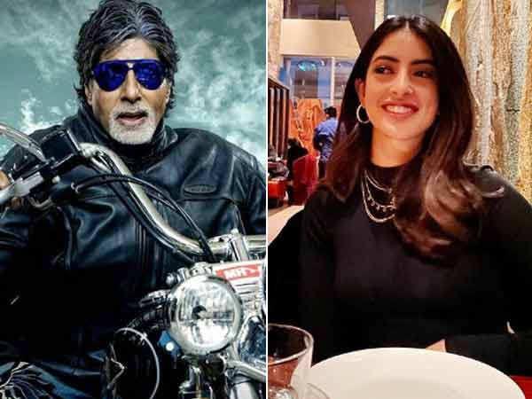 Navya Naveli reacts to Amitabh Bachchan's cool avatar
