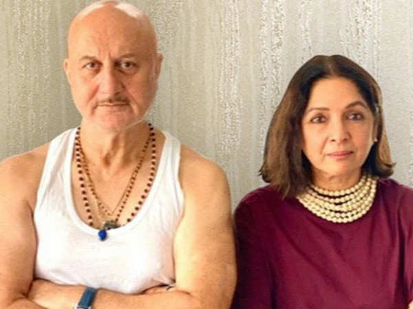 Anupam Kher Unveils The First Poster Of His 519th Film Shiv Shastri Balboa With Neena Gupta