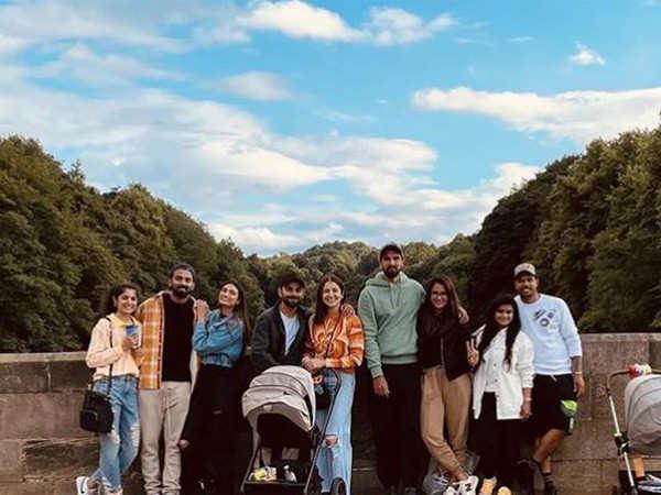 Pictures: Anushka Sharma, KL Rahul and Virat Kohli are having a fabulous time in Durham