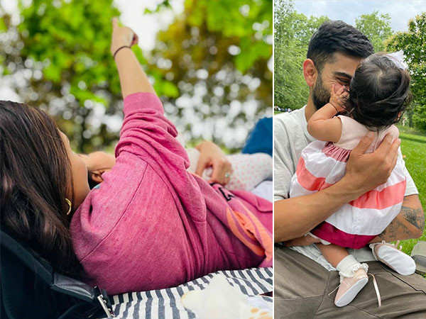 Anushka Sharma and Virat Kohli celebrate the six month anniversary of being parents