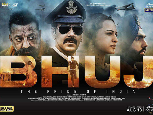 Ajay Devgn and Sonakshi Sinha's Bhuj:The Pride of India gets a release date