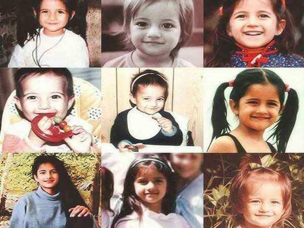 Birthday Star Katrina Kaif's Adorable Childhood Pictures