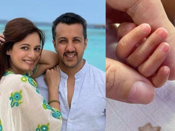 Dia Mirza And Vaibhav Rekhi Welcome Their Baby Boy Avyaan Azaad Rekhi
