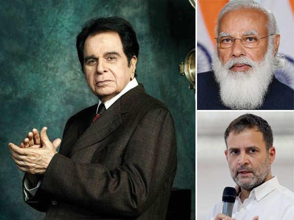 Prime Minister Narendra Modi, Rahul Gandhi Pay Tribute To Dilip Kumar