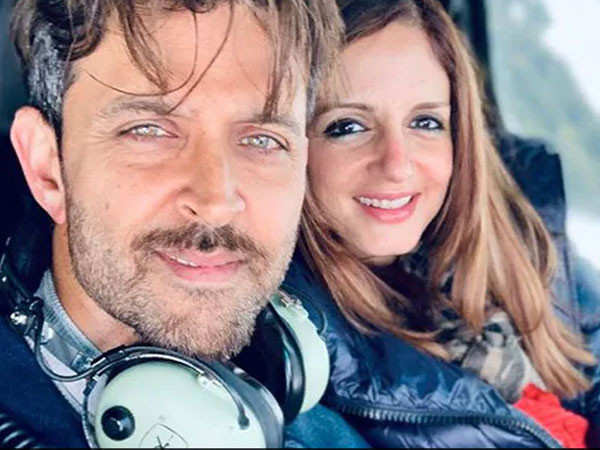 Sussanne Khan's workout post grabs Hrithik Roshan's attention