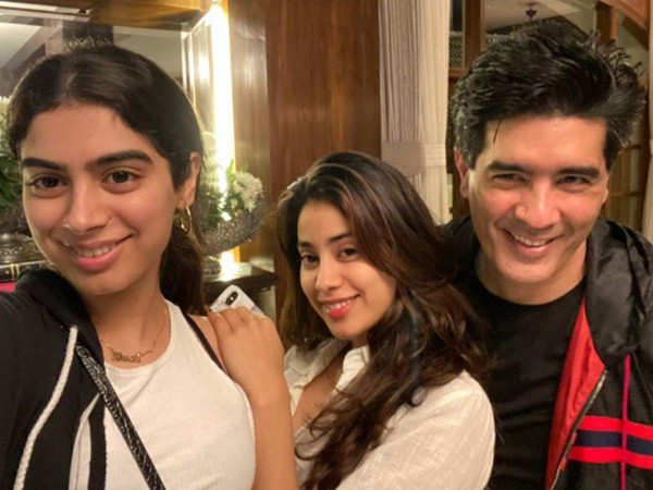 Janhvi Kapoor wishes Manish Malhotra luck for his directorial debut