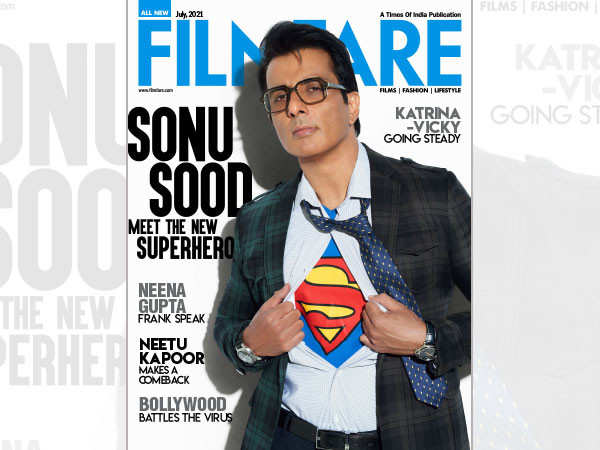 Meet India's real hero Sonu Sood on Filmfare's July cover