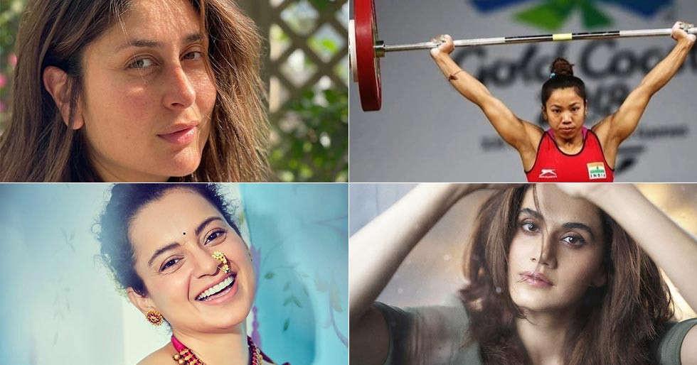 Taapsee, Kareena Kapoor, Kangana Ranaut, Mahesh Babu celebrate the victory of Mirabai Chanu