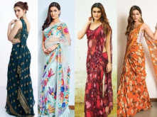 The Saree Revolution By Birthday Star Kriti Sanon
