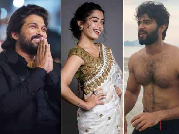 Rashmika Mandanna talks about Vijay Deverakonda and Allu Arjun