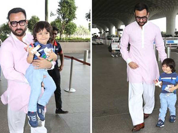 Saif Ali Khan reacts to fans wanting him to work with Taimur