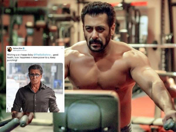 Salman Khan wishes Sylvester Stallone a happy birthday with a sweet message