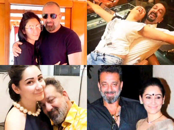 Sanjay Dutt wishes Maanayata Dutt a very happy birthday with a special post