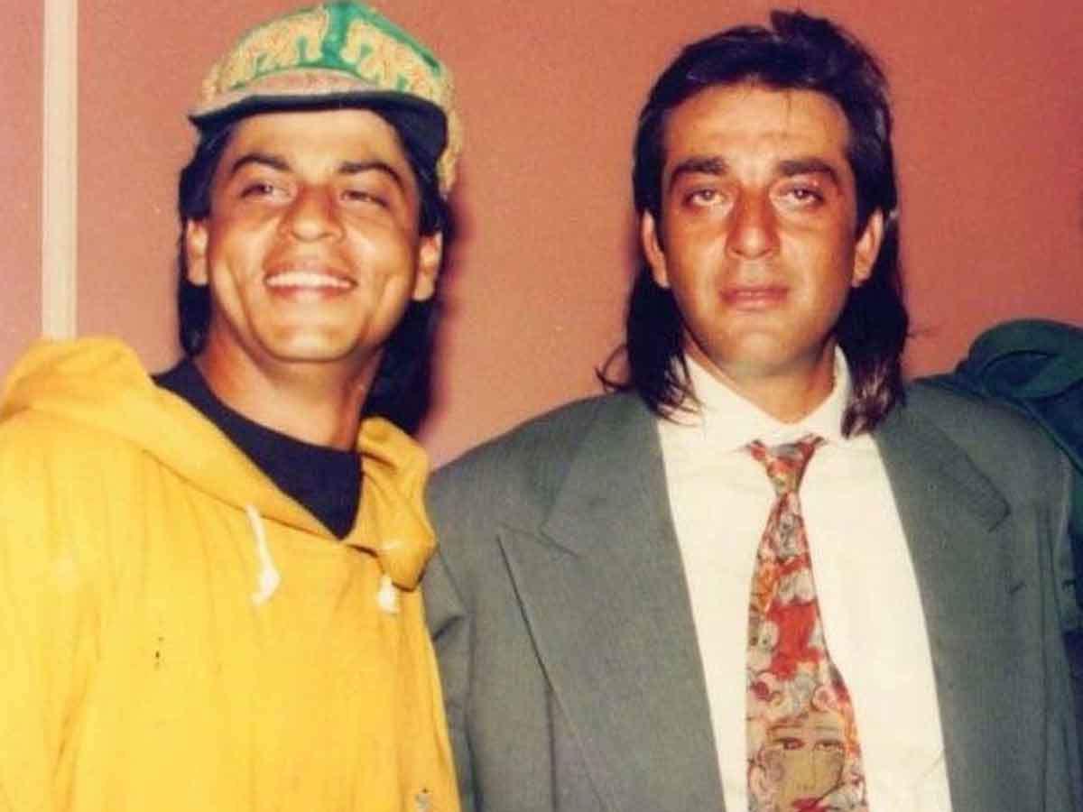 Shah Rukh Khan Sanjay Dutt