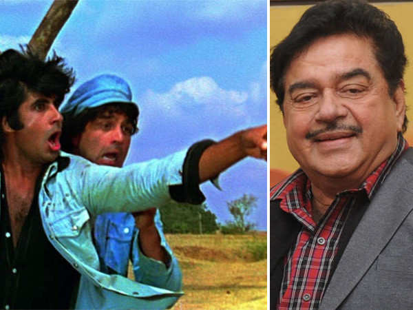 Shatrughan Sinha reveals why he had to turn down Sholay