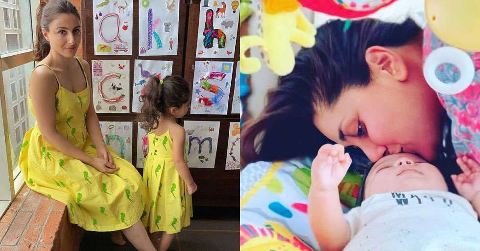 It is lovely to have a new baby in the family – Soha Ali Khan talks about her nephew