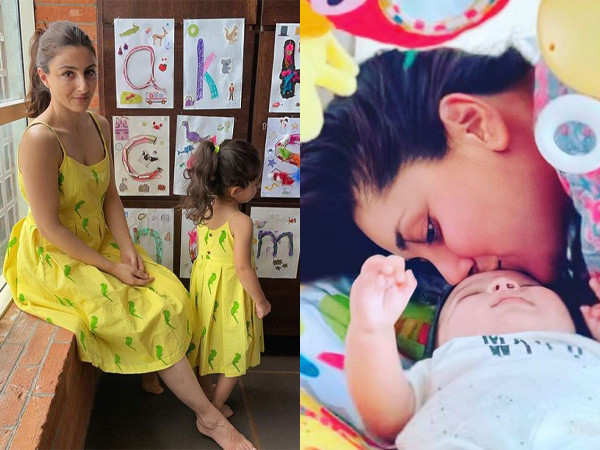 It is lovely to have a new baby in the family - Soha Ali Khan talks about her nephew