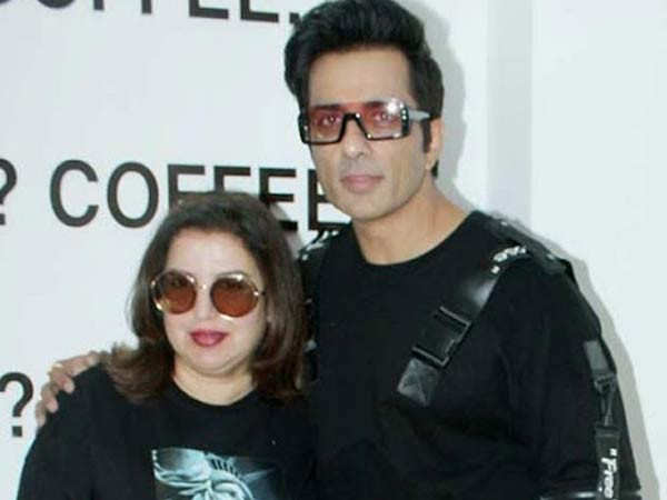 Sonu Sood and Farah Khan collaborate to recreate Tum To Thehre Pardesi