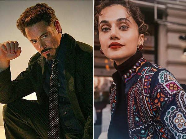 When Taapsee Pannu messaged Robert Downey Jr on social media