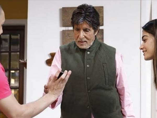 Amitabh Bachchan's first look from Goodbye leaked