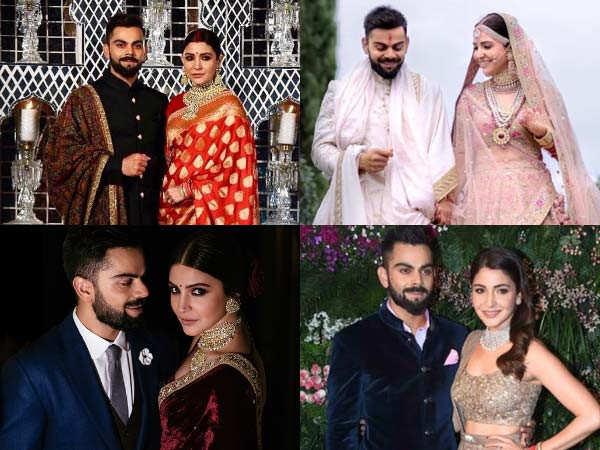 A Round Up Of Anushka Sharma's Wedding Looks
