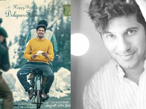Dulquer Salmaan gives us a glimpse of his next film