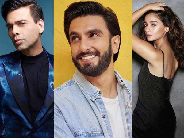 Exclusive: Karan Johar's next film to star Ranveer Singh, Alia Bhatt