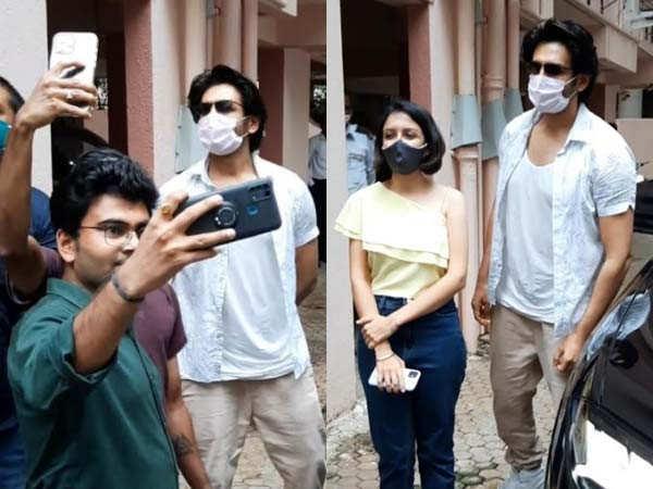 Kartik Aaryan makes time for his fans