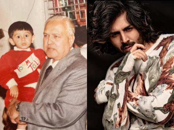Kartik Aaryan mourns the demise of his grandfather