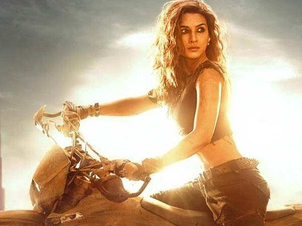 Kriti Sanon to take up dirt biking for Ganapath